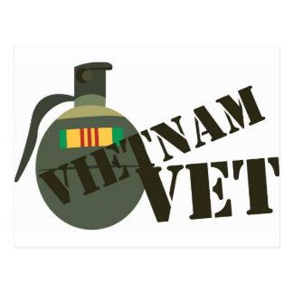 Vietnam-Tierarzt  Postkarte