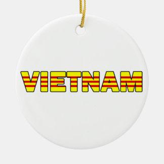 Vietnam-Verzierung Rundes Keramik Ornament