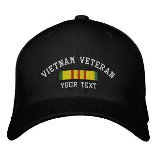 Vietnam-Veteran Bestickte Baseballkappe
