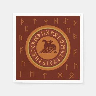 Viking-Runen Papierserviette