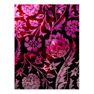 Viktorianische Arabeske, DAME CIARA - Valentine Postkarte