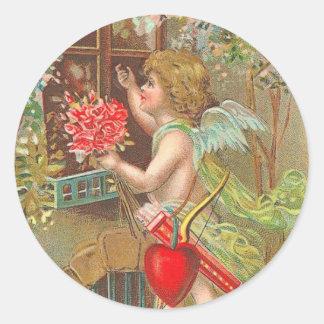 Viktorianische Aufkleber des Valentines Tages