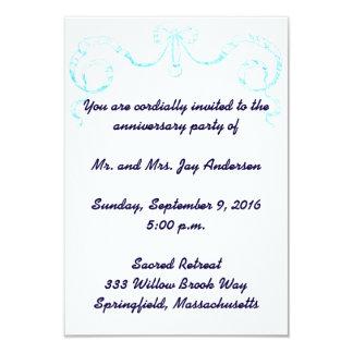 Viktorianische Band-Jahrestags-Party Einladung