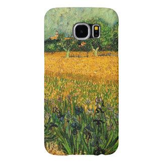 Vincent van Gogh-Ansicht von Arles mit Iris