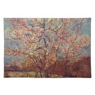 Vincent van Gogh - blühendes Obstgarten-Malen Tischset
