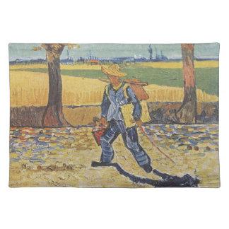 Vincent van Gogh - der Maler auf seiner Weise zu Tischset