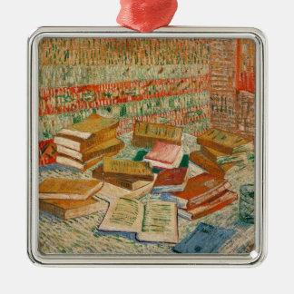 Vincent van Gogh | die gelben Bücher, 1887 Silbernes Ornament