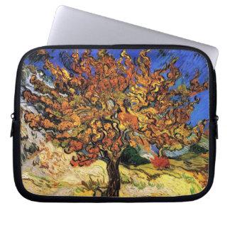 Vincent van Gogh - die Maulbeerbaum-schöne Kunst Laptop Sleeve