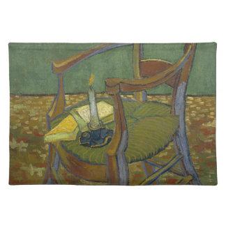 Vincent van Gogh - Gauguins Lehnsesselmalerei Stofftischset