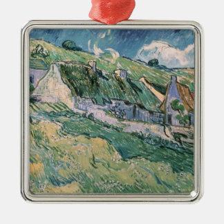 Vincent van Gogh   Hütten bei Auvers-sur-Oise Silbernes Ornament