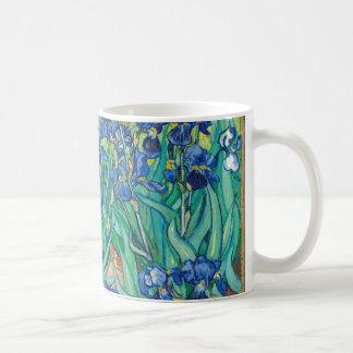 VINCENT VAN GOGH - Iris 1889 Kaffeetasse