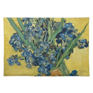 Vincent van Gogh - Iris-Kunstwerk Stofftischset