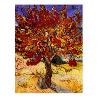 Vincent van Gogh-Maulbeerbaum-Kunst-Malerei Postkarte