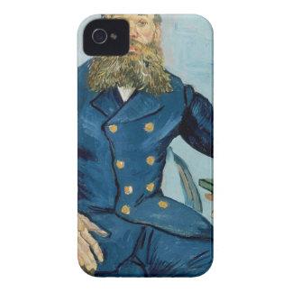 Vincent van Gogh-Porträt des Briefträgers Joseph iPhone 4 Case-Mate Hüllen