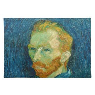 Vincent van Gogh-Selbstporträt-Malerei 1889 Tischset