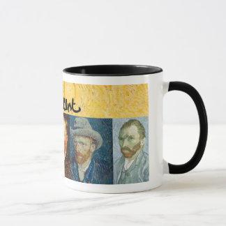 Vincent van Gogh stellt gegenüber Tasse