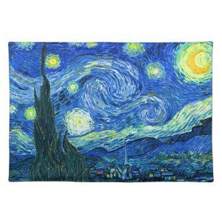 Vincent van Gogh sternenklare Nacht Tischset