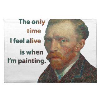 Vincent van Gogh Stofftischset
