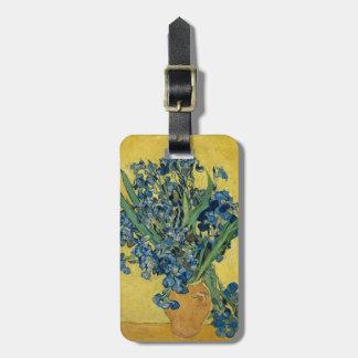 Vincent van Gogh-Vase mit Iris GalleryHD Kofferanhänger