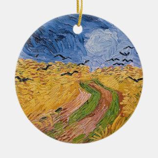 Vincent van Gogh | Wheatfield mit Krähen, 1890 Keramik Ornament