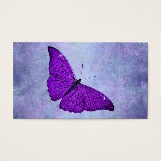 Vintage 1800s dunkle lila visitenkarten