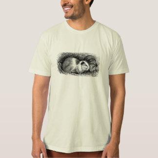 Vintage 1800s Meerschweinchen-Illustrations-Retro T-Shirt
