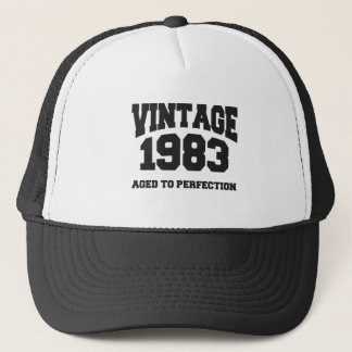 Vintage 1983 - Aged to perfection Truckerkappe