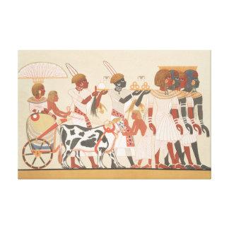 Vintage ägyptische Illustration Gespannte Galerie Drucke