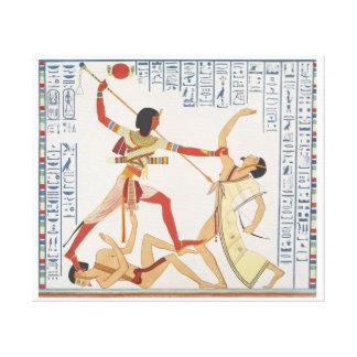 Vintage ägyptische Illustration Leinwand Drucke