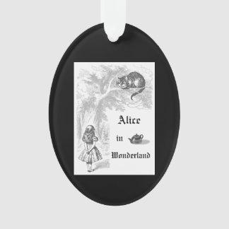 Vintage Alice im Wunderland-Weihnachtsverzierung Ornament