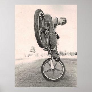 Vintage alte Schule BMX Poster