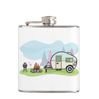 Vintage Art-Camper-Flasche Flachmann