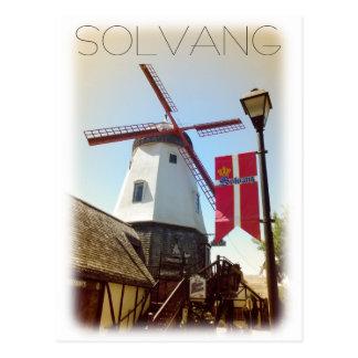 Vintage Art Solvang Postkarte! Postkarten