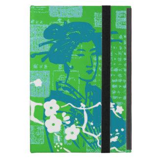 Vintage asiatische Collage Etui Fürs iPad Mini
