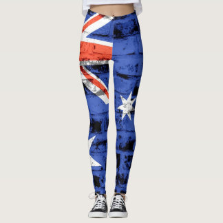Vintage Australien-Flagge #3 Leggings