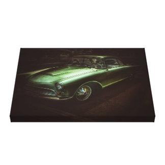 Vintage Auto-Leinwand Leinwanddruck