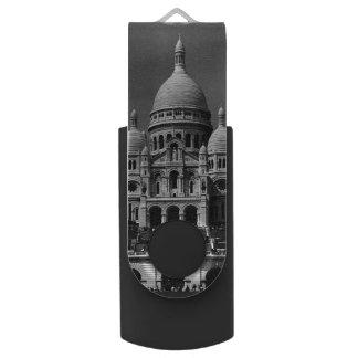 Vintage Basilika Frankreichs Paris Sacre Coeur USB Stick