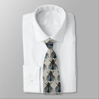 Vintage Bienen-Krawatte Bedruckte Krawatte