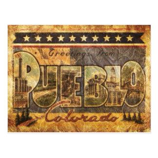 Vintage Blick-Colorado-Postkarte Postkarte