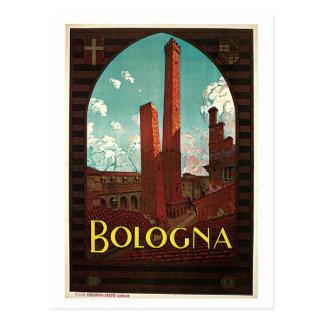 Vintage Bolognazwanziger jahre italienische Postkarte
