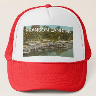 Vintage Branson-Landung Truckerkappe