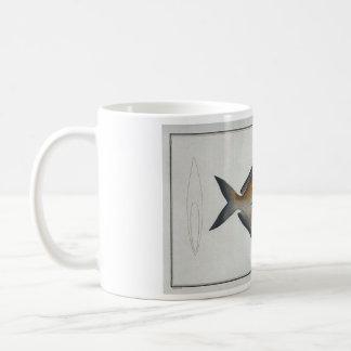 Vintage Butterfisch-Tasse Kaffeetasse