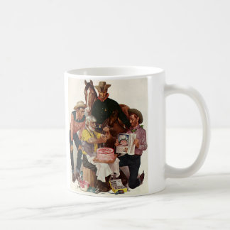 Vintage Cowboys, alles- Gute zum GeburtstagParty Tasse