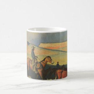 Vintage Cowboys, offene Strecke durch Maynard Kaffeetasse