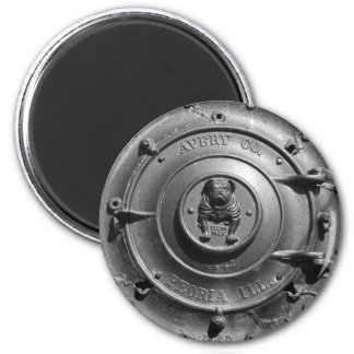 Vintage Dampf-Traktor-Front Magnete