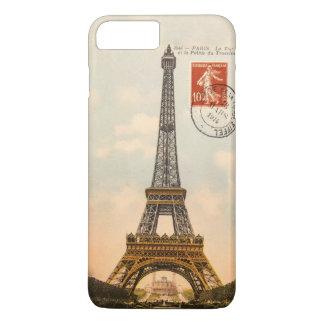 Vintage Eiffel-Turm iPhone 7 Plusfall iPhone 8 Plus/7 Plus Hülle