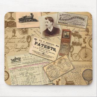 Vintage Euphorie-Züge, Bill, Fahrräder Mousepads
