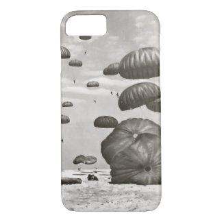 Vintage Fallschirmjäger-Landungs-Telefon-Abdeckung iPhone 8/7 Hülle