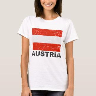 Vintage Flagge Österreichs T-Shirt