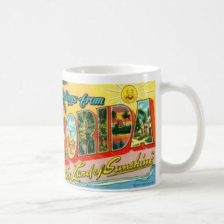 Vintage Florida-Tasse Tasse
